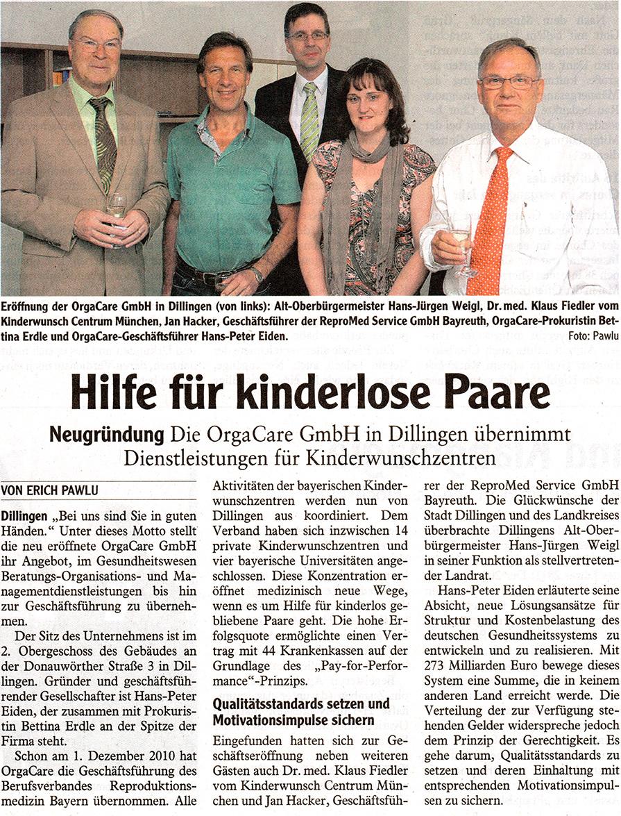 Donau-Zeitung vom 14.04.2011